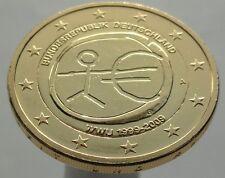 2 EURO 2009 Germany Deutschland Plated 24K Gold Gilded Vergoldet