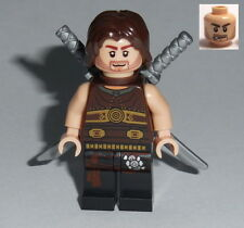 PRINCE OF PERSIA Lego Dastan w/scabbard and swords  NEW 7573-7572-7571