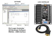 Plc Professional Training Starter Kit Ladder Logic Software W Controller Board