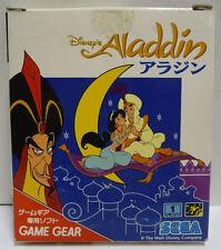 DISNEY'S ALADDIN SEGA GAME GEAR  NTSC JAPAN BOXED