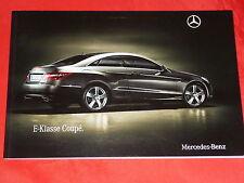 MERCEDES C207 E-Klasse Coupe E 250 CDI E 350 CDI E 250 E 350 E 500 Prospekt 2009