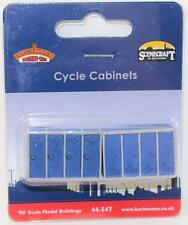 OO 1:76 44-547 Bachmann Scenecraft 1 x Pack of 2 Cycle Cabinets New FNQHobbys