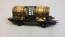 Vintage Marklin HO Scale Bordeaux 308 Wine Wagon Barrel Car