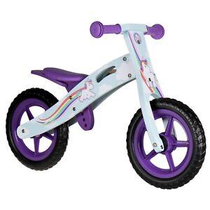 Nicko NIC866 Unicorn Children's Kids Girls Wooden Balance Bike 2-5 Years