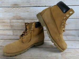 Timberland Mens 18094 Waterproof Boots, Size 12 M, Wheat/Nubuck/Beige Boots