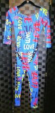 Love Leotard Bodysuit Lycra Size Small