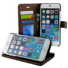 Prodigee Wallegee Brown Apple iPhone 6 6s + Plus Wallet Leather Card Case Cover