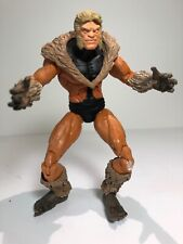 Loose Marvel Legends Sabretooth Action Figure 6in ToyBiz From Face Off Two Pack
