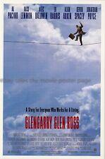 Glengarry Glen Ross 1992 David Mamet Al Pacino US movie poster SS NM