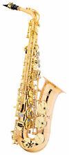Traumhaftes Alt-Saxophon aus lackiertem Goldmessing mit Leichtkoffer & Mundstück