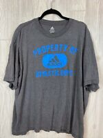 """Men's Adiddas Gray Distressed """" Property Of Athletic Dept"""" T-shirt Size XL"""