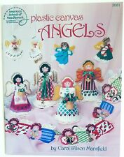Plastic Canvas Angels Patterns - 12 Plastic Canvas Angel Projects - 1989
