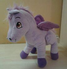 "Authentic Disney Sofia the First Horse Minimus Purple Wings Plush 9"" boys girls"
