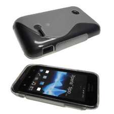 caseroxx TPU-Case for Sony Xperia Tipo in clear made of TPU