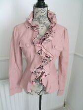 STELLA PRETTY PINK PU JACKET SIZE M UK 10 12 EXCELLENT CONDITION
