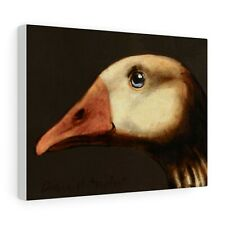 More details for goose : canvas print / poster : from a painting by david andrews : duck bird art