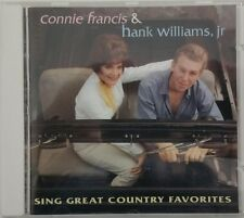 Sing Great Country Favorites by Connie Francis/Hank Williams, Jr. Germany 1993