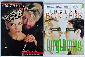 EURYTHMICS - ANNIE LENNOX INTERVIEW - INSIDE BORDERS MAG + IN THEIR OWN WORDS PB