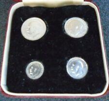 More details for 1918 george v maundy money end of wwi 1d 2d 3d 4d spink ref 4016 boxed