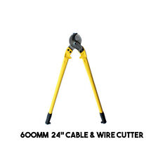 """Heavy Duty Cable Cutters, (600mm 24""""), Cutting Wire Rope Electrical Cable cutter"""