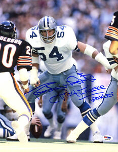 Randy White SIGNED 11x14 Photo +1,104 Tackles Cowboys ITP PSA/DNA AUTOGRAPHED