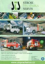 STS KAROSA RECONSTRUCTION FIRE TRUCK FEUERWEHR 2014 BROCHURE PROSPEKT FOLDER