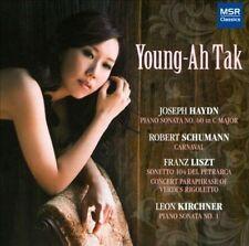Haydn: Piano Sonata No.60 in C; Franz Liszt: Sonetto 104 del Petrarca, Rigoletto
