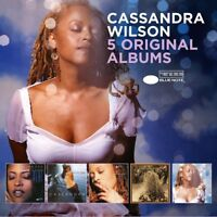 CASSANDRA WILSON - 5 ORIGINAL ALBUMS  5 CD NEW!