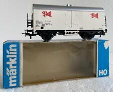 """Märklin HO_4535, 2 Axle Refrigerator Car with """"BELL"""" inscript"""