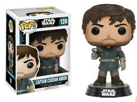 POP! Star Wars Rogue One Captain Cassian Andor FUNKO #139