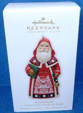 2010 Switzerland Santas From Around the World Hallmark Ornament