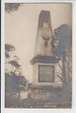 AK Karlovy Vary, Karlsbad, Dauphine Denkstein Theresienhöhe Foto 1915