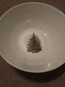 """Christopher Radko Traditions Holiday Celebrations Large Serving Bowl, 91/2"""""""