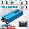 5000W DC 12 à AC 230V LCD Numérique Puissance Inverter Onduleur Convertisseur