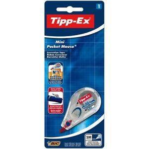 Original New Tipp-Ex Mini Pocket Mouse Corrector 5m /FAST FREE DELIVERY