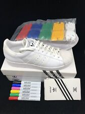 Adidas Superstar 35th Anniversary Superstar  Adicolor US 10 (6 Lacquer Pens)