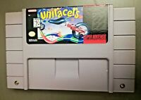 Uniracers Super Nintendo SNES Racing Game Authentic w/ High Records & Saves