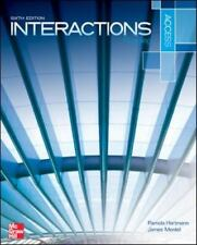 Interactions Access Reading Student Book Plus Registration Code for Connect...