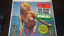1966 SAN REMO FESTIVAL-EPIC RECORDS-LF 18043-LP-12 GREATEST HITS-STEREO-RARE