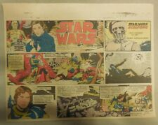 Star Wars Sunday Page by Al Williamson from 12/27/1981 Large Half Page Size!