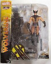 Marvel Select- Brown Uniform Wolverine Collectors Edition Action Figure!!