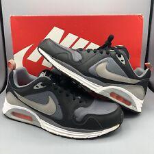 Nike Air Max Lunarlon Trax Running Shoes Size 9 620990 008 Cool Grey Silver