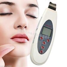 USA Ultrasonic LCD Digital UltrasonicSkinScrubberCleanerMassager Facial tool