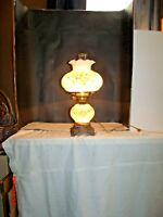 Milk Glass GWTW Hurricane Lamp Accurate Casting Co.