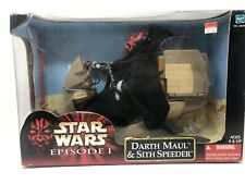 Maul Star Wars: Episode 1 Darth With Sith Speeder Large Doll Action Figure NIB