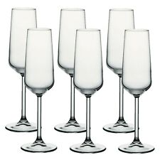Pasabache Allegra Champagne Flutes Set of 6 Glasses Cocktail Drink Christmas