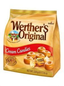 Werthers Original Classic Cream Candies 220g Share Bag