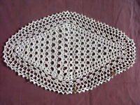 #1243  Beautiful Vintage Hand Made Table Runner  41cm/25cm(16''x10'')
