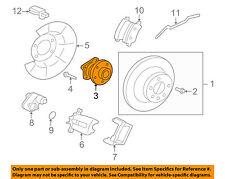 VOLVO OEM 10-14 XC60 Brake-Rear-Wheel Hub & Bearing 31360026