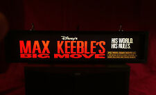 "MAX KEEBLE'S BIG MOVIE (2001) DISNEY - LARGE MOVIE THEATER MYLAR 5"" X 25"""